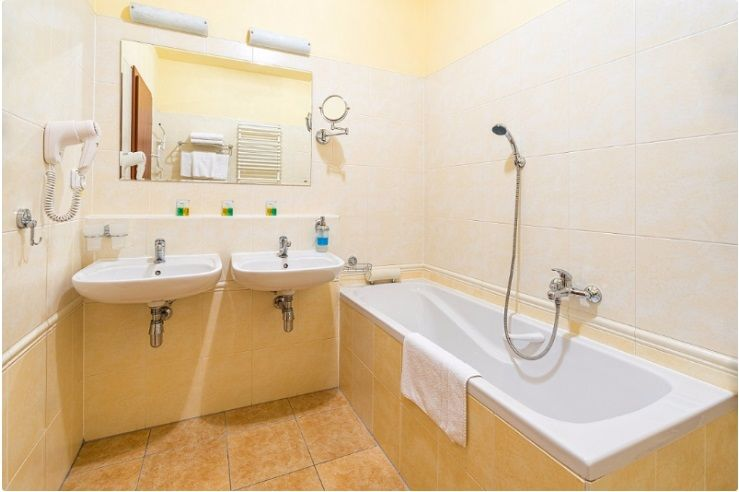 Hotel Ambra - koupelna